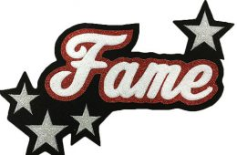 Custom Patchwork – Fame Patch